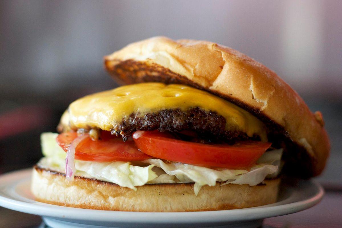 A DMK Burger Bar Burger