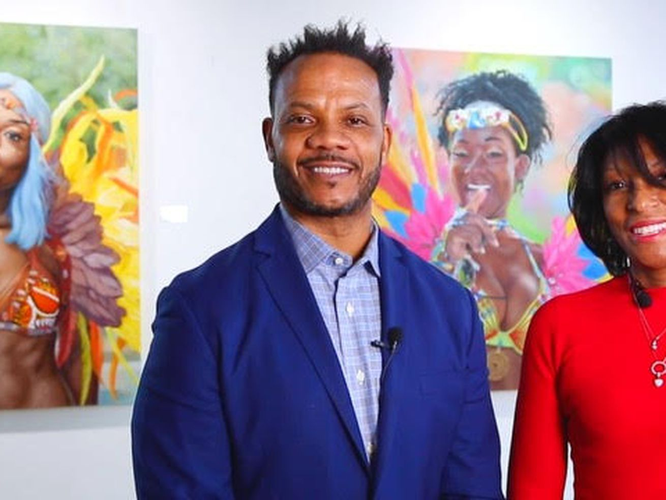 Andre and Frances Guichard are owners of the 16-year-old Gallery Guichard in Bronzeville, which has seen corporate efforts toward diversity, equity and inclusion expand to art in the post-George Floyd era. The couple, which also owns the seven-year-old Bronzeville Artist Lofts, has been on a mission to expose patrons to multicultural artists and art in the African Diaspora, along with four other galleries in the Bronzeville Art District.