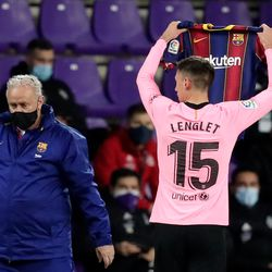 Lenglet dedicates his goal to Wague