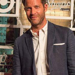 Interior designer and TV show host Nate Berkus