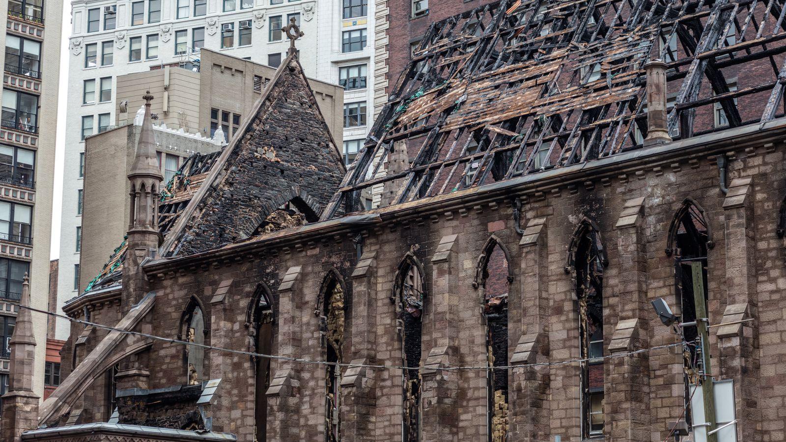 Smoldering Easter Candles Caused Landmarked Flatiron