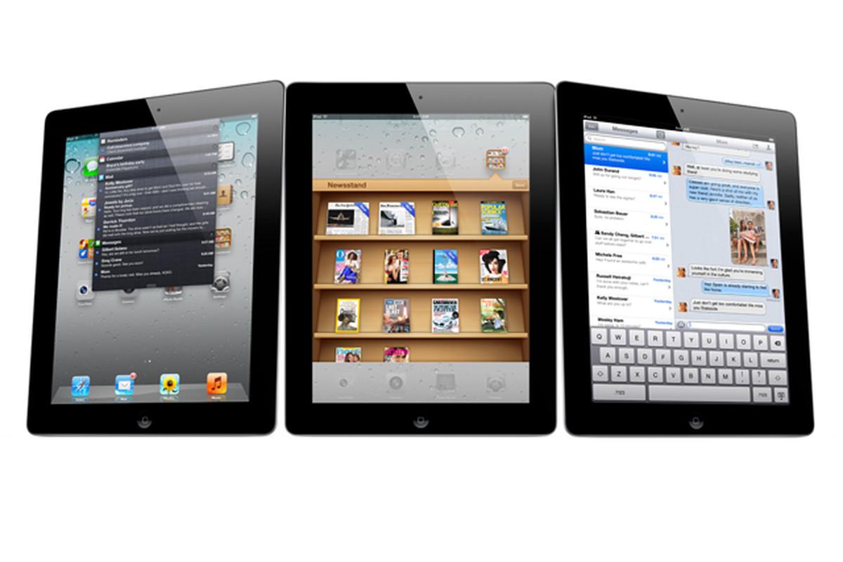 iPad 2 stock press image