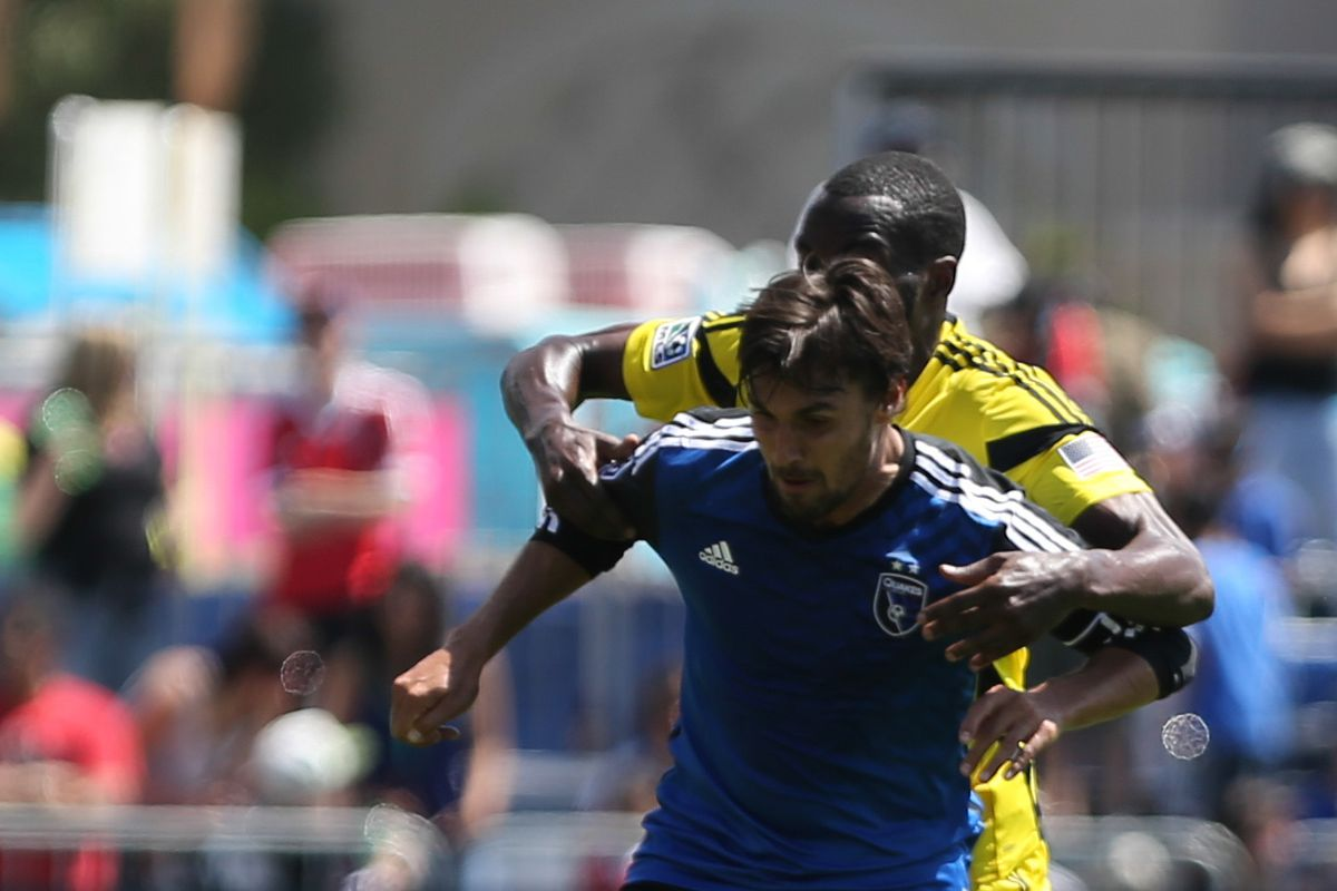 Crew SC travels to San Jose on Saturday to take on the Earthquakes.