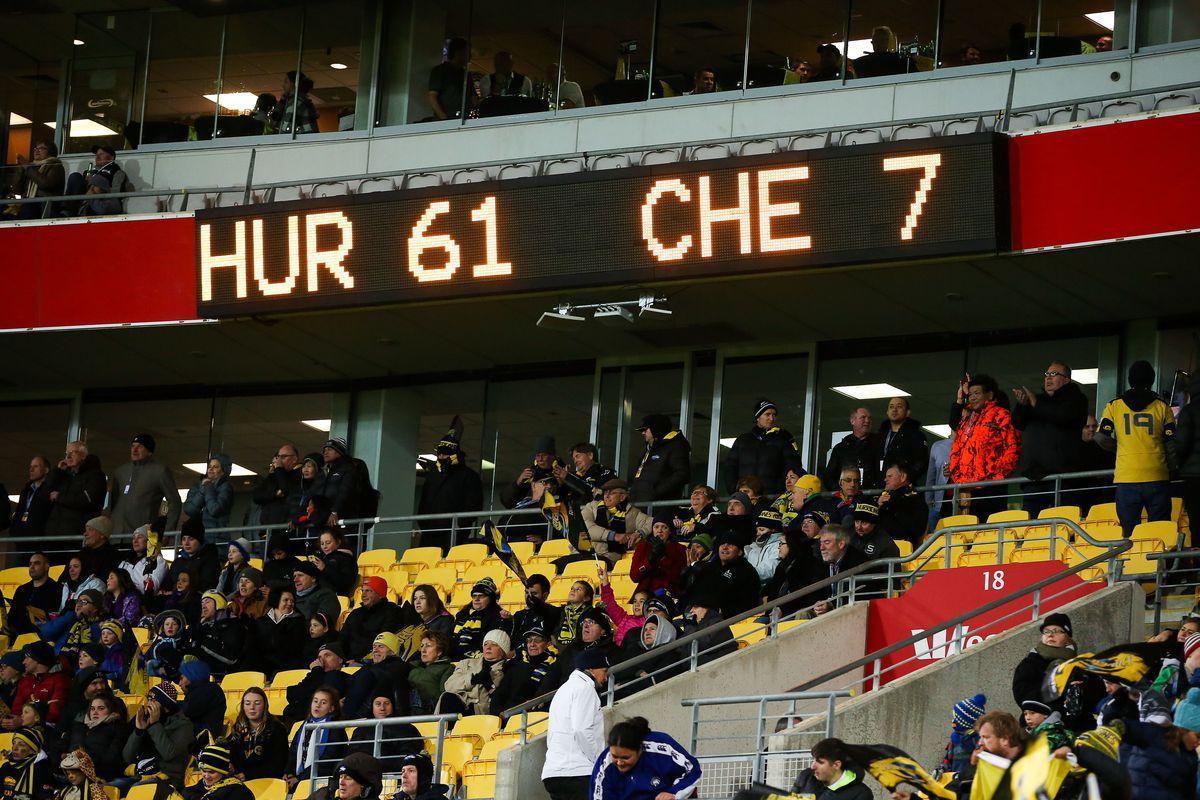Super Rugby Rd 13 - Hurricanes v Cheetahs