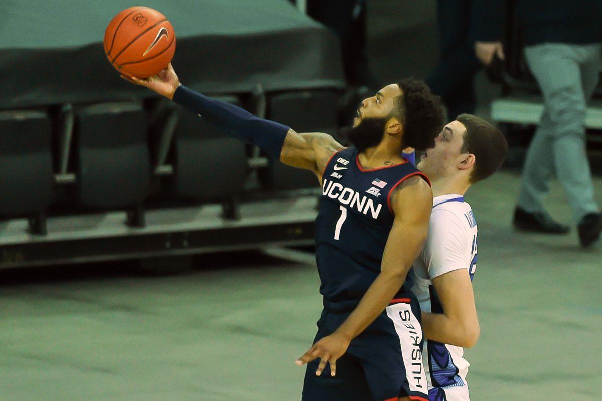 NCAA Basketball: Connecticut at Creighton