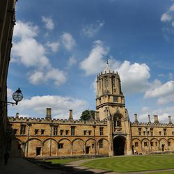Christ Church, Oxford University, in England on June 14, 2017.