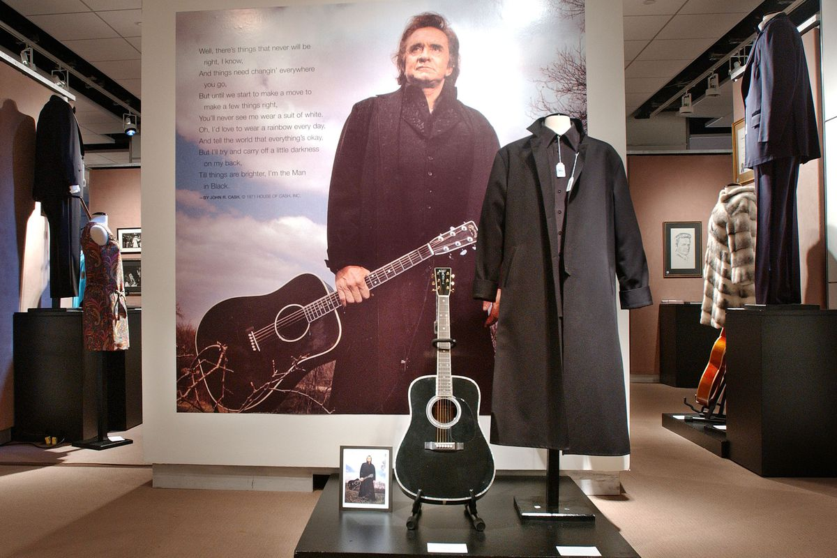 Johnny Cash Memorabilia To Be Auctioned