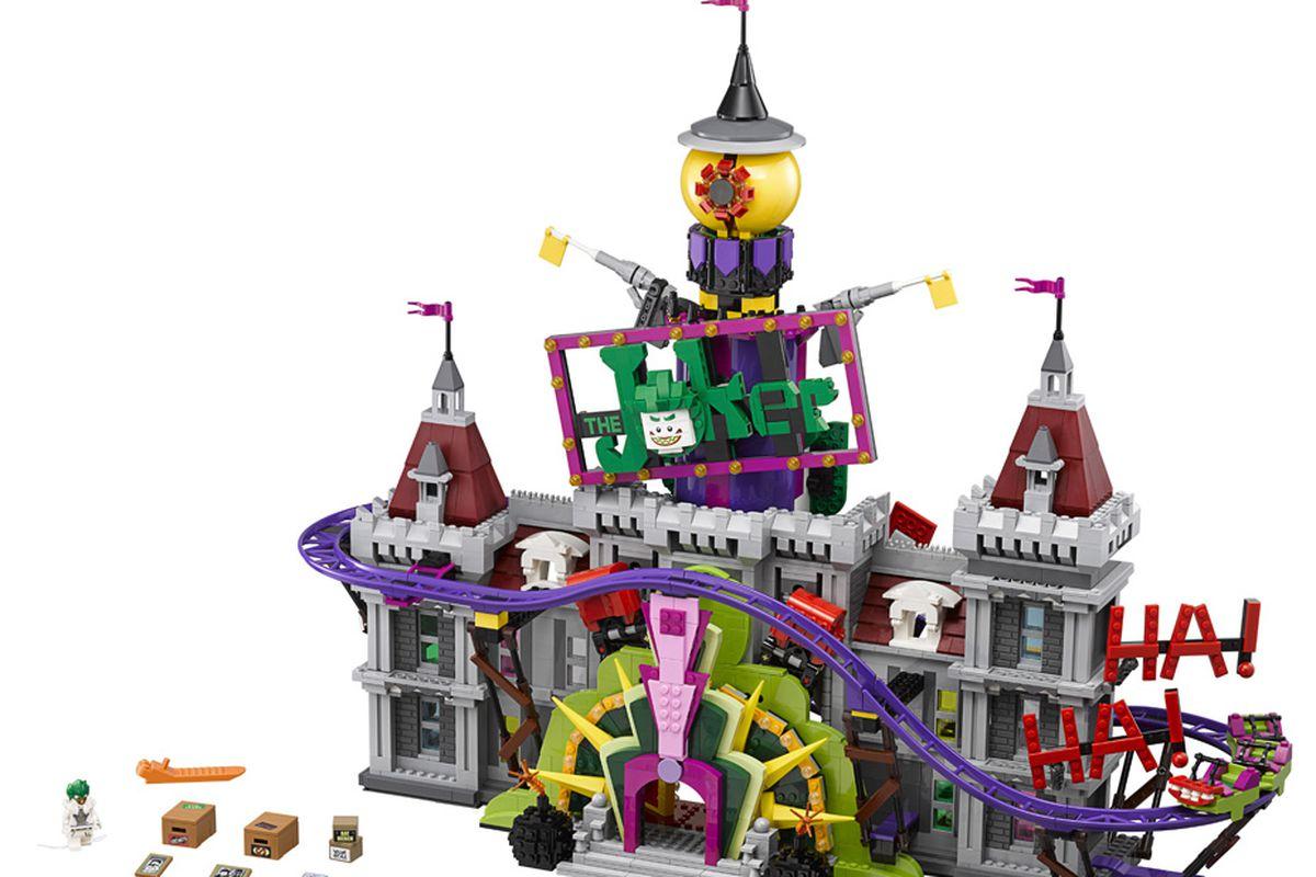 Joker Manor from The Lego Batman set