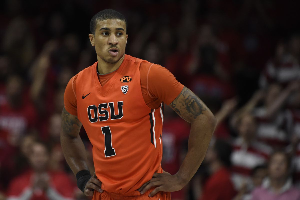Gary Payton II and the rest of the Beavers will look to get back on the winning track tonight at Gill Coliseum, where they are unbeaten this season.