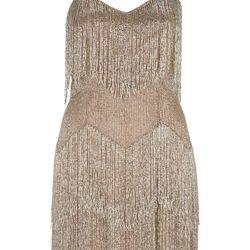 Beaded Fringe Dress, $490
