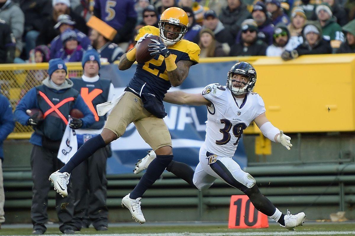 Baltimore Ravens v Green Bay Packers