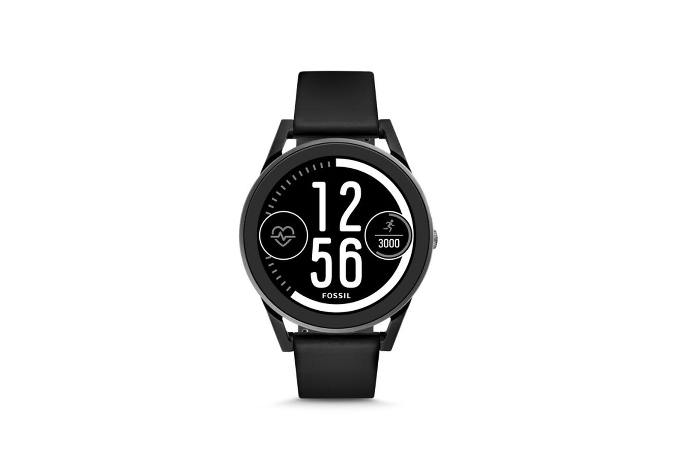 fossil s new android wear smartwatch has a touch sensitive bezel and costs 275