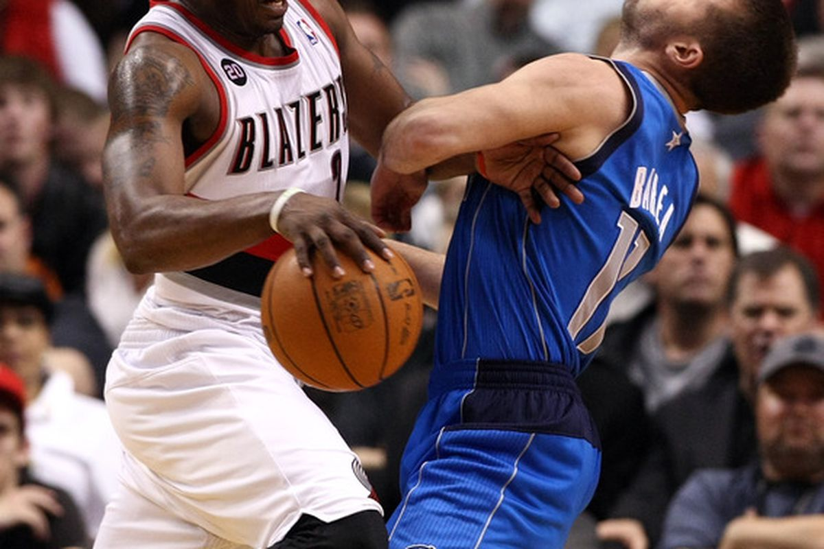Can the Mavericks stop the Portland freight train today?