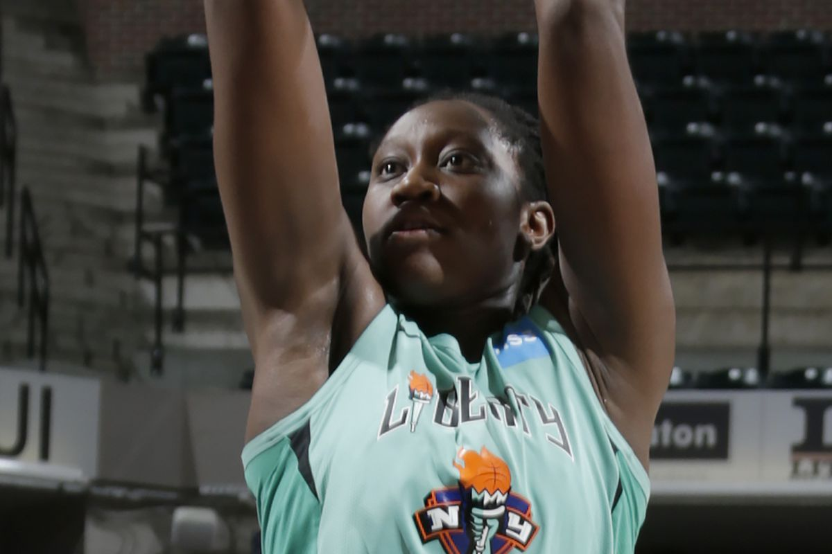 Tina Charles continues to make history in Liberty win over Fever