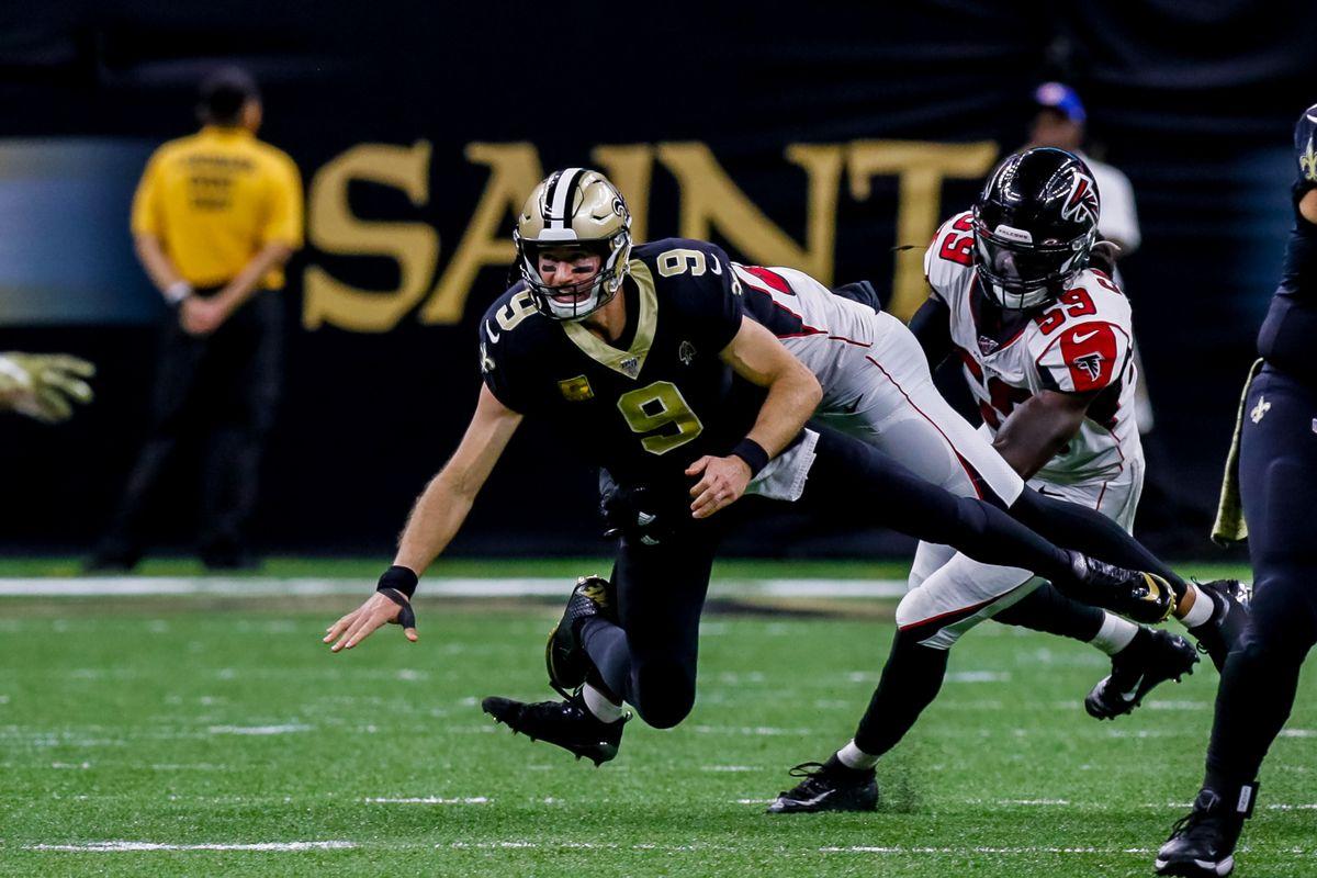 NFL: NOV 10 Falcons at Saints