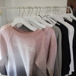 """We're obsessed with these soft sweaters from LA's own <a href=""""http://www.35mmclothing.com/"""" target=""""_blank"""">35mm Clothing</a>."""