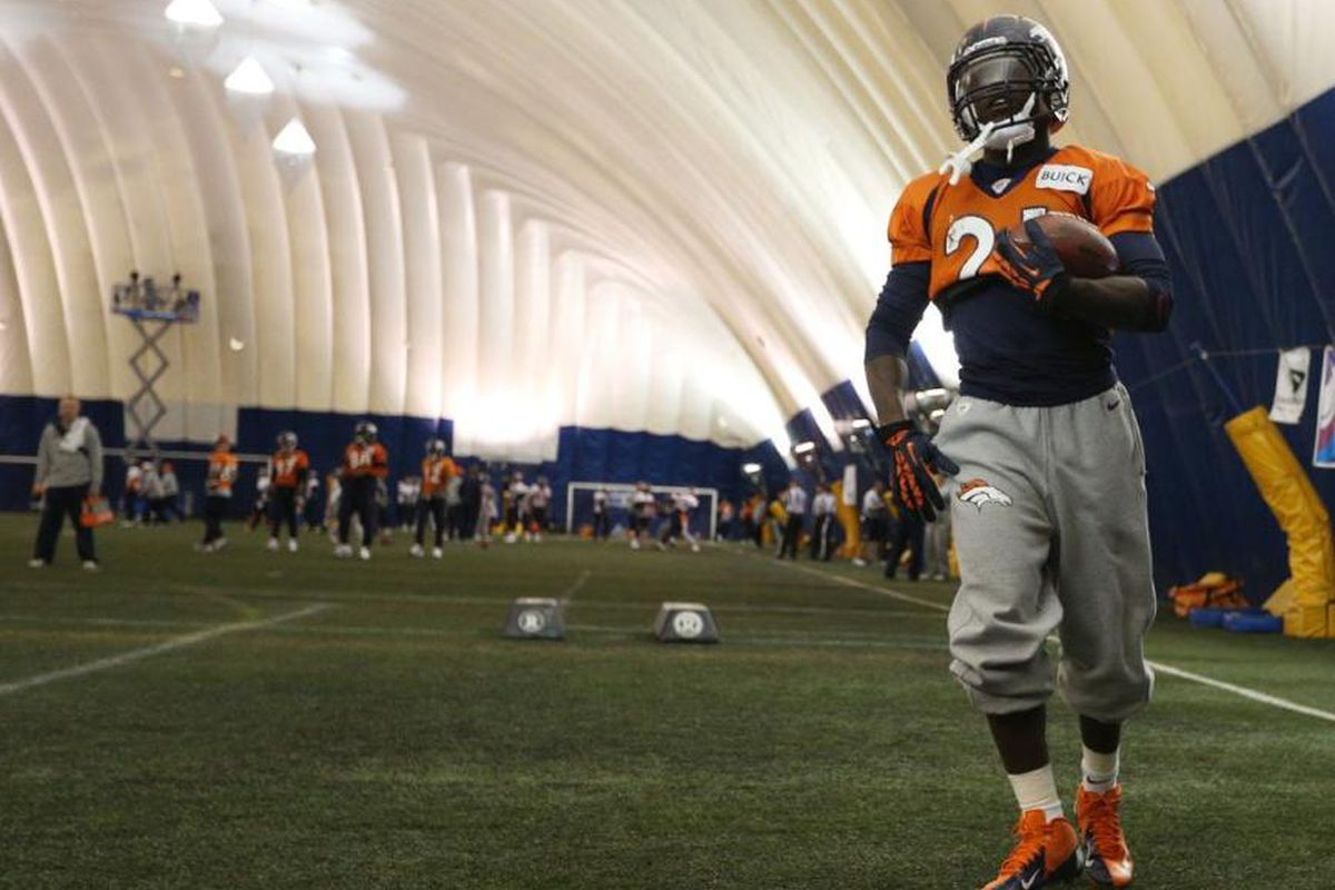 Nine players worked out Wednesday for the Denver Broncos.