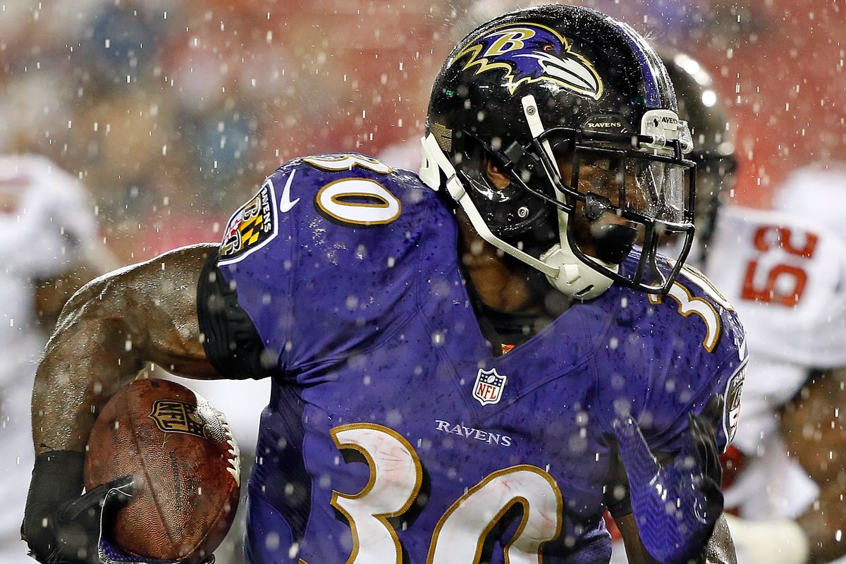 Bernard Pierce's knee suffered no structural damage, according to the Baltimore Sun.