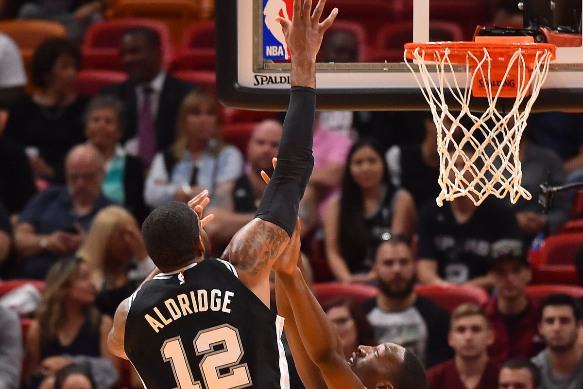 NBA: San Antonio Spurs at Miami Heat