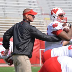 Head coach Gary Andersen emphasizes ball security.