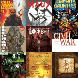 Chelsy Bloomfield, of the Utah Graphic Novel Book Club, recommended these nine graphic novels.