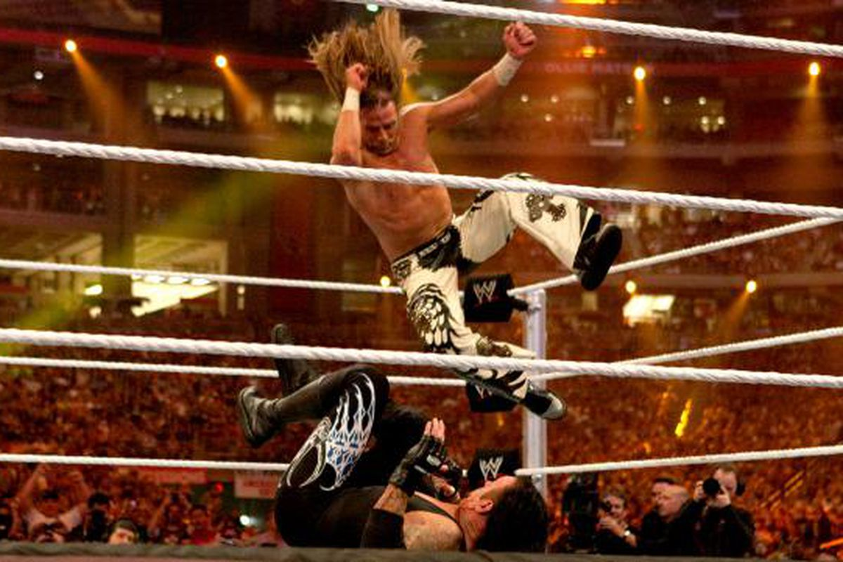 Ranking WrestleMania main events worst to best, #2: Shawn Michaels vs. The Undertaker - Cageside Seats