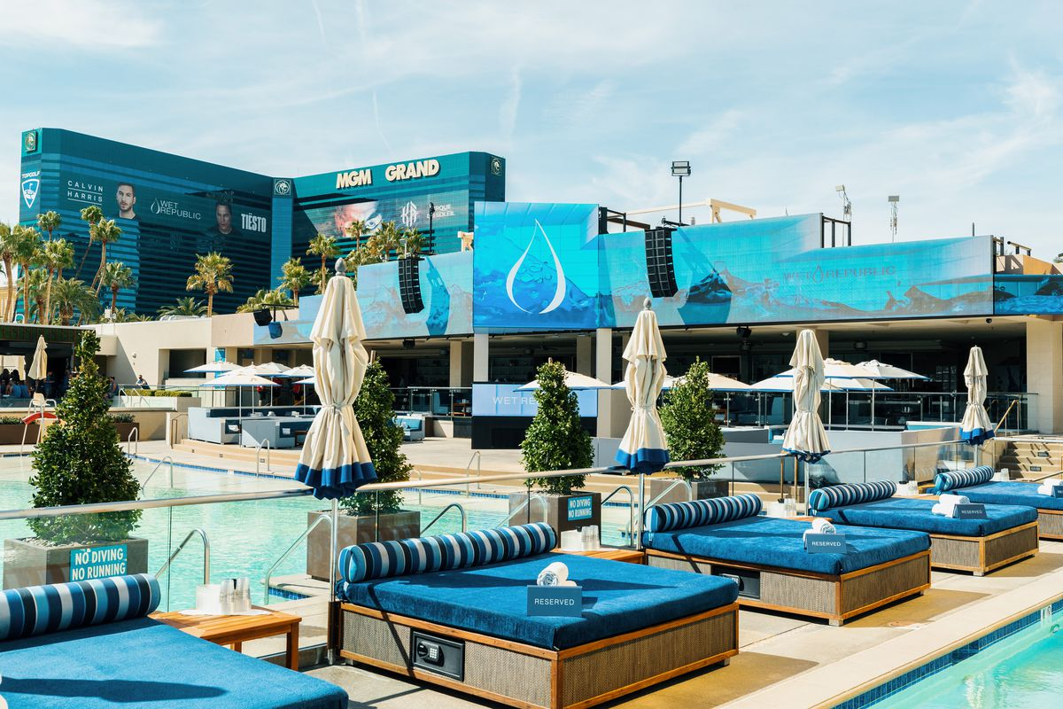 Wet Republic And Liquid Pool Lounge Reopen As Adults Only Venues In July Eater Vegas