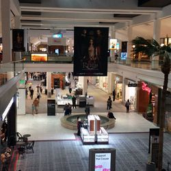 A view from Westfield Fashion Square's second floor
