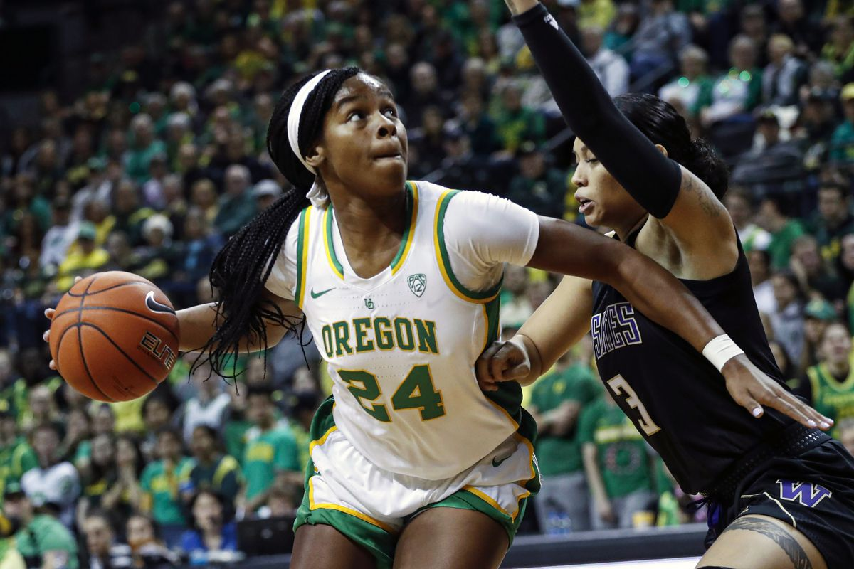 With the eighth pick in the 2020 WNBA Draft, the Sky selected forward Ruthy Hebard out of Oregon.
