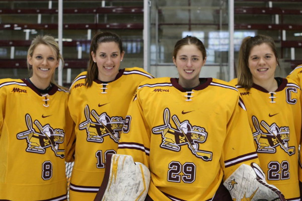The Gophers will honor thier five seniors on Saturday