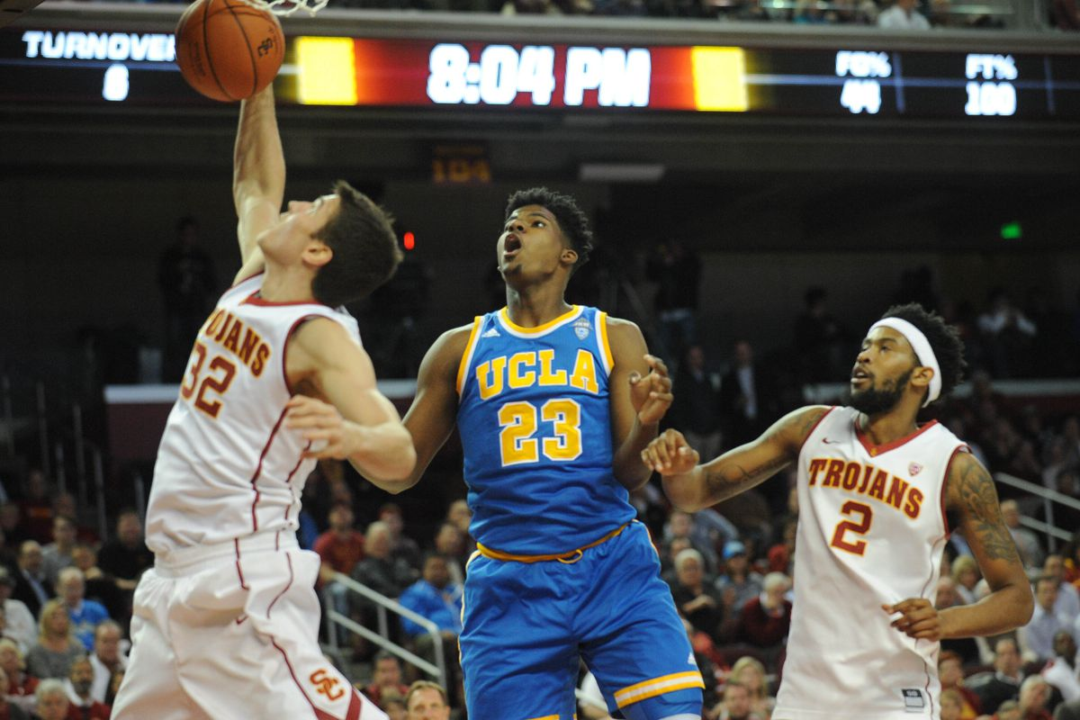 Parker and UCLA will likely be watching Just SC in the NCAA Tournament from home this year.
