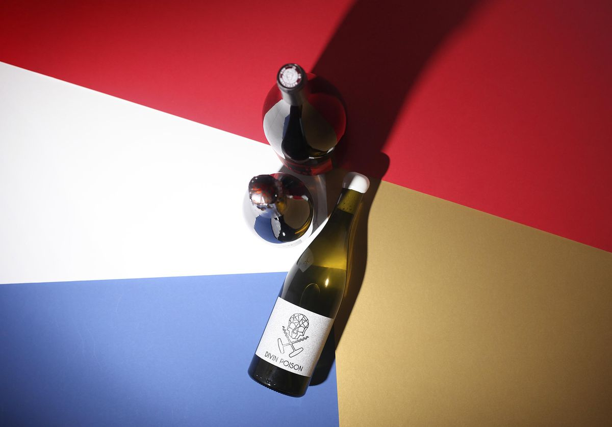 Bottles of natural wine make a great Christmas gift