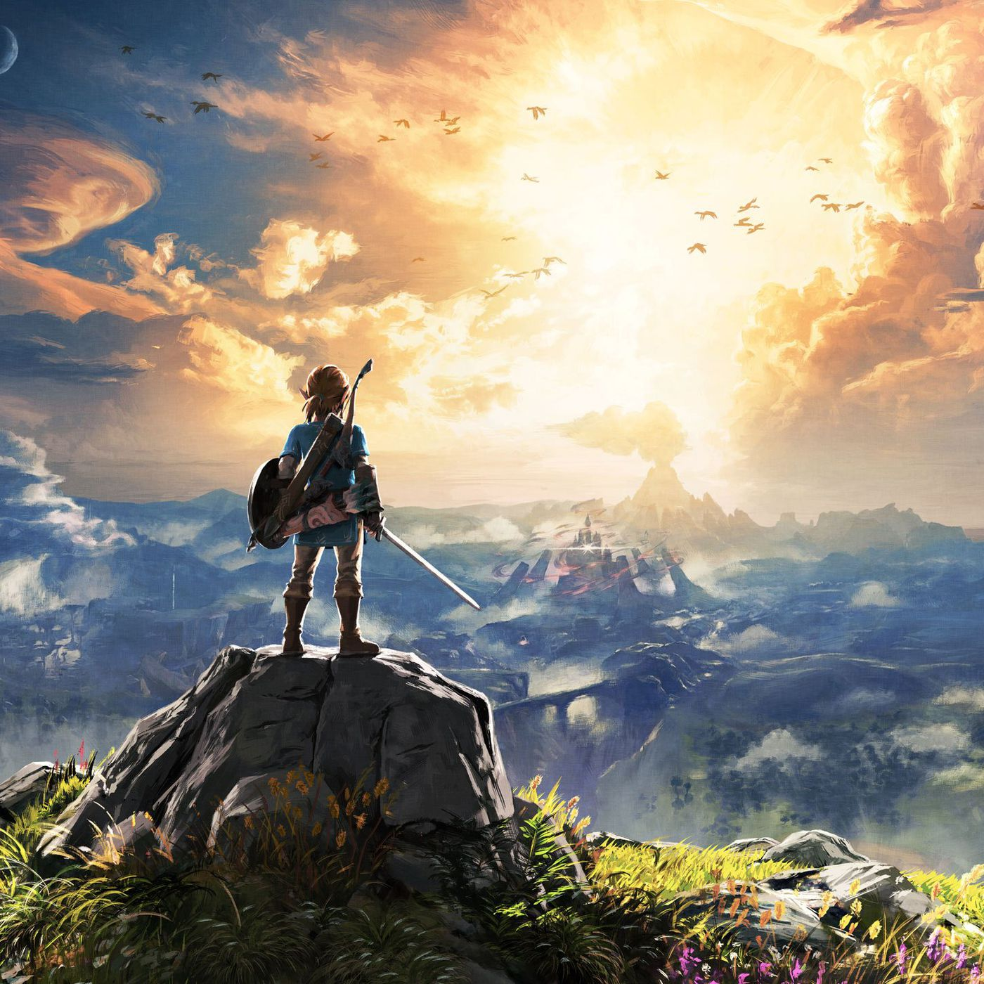 The Legend Of Zelda Breath Of The Wild Is Nintendo S Skyrim The Verge