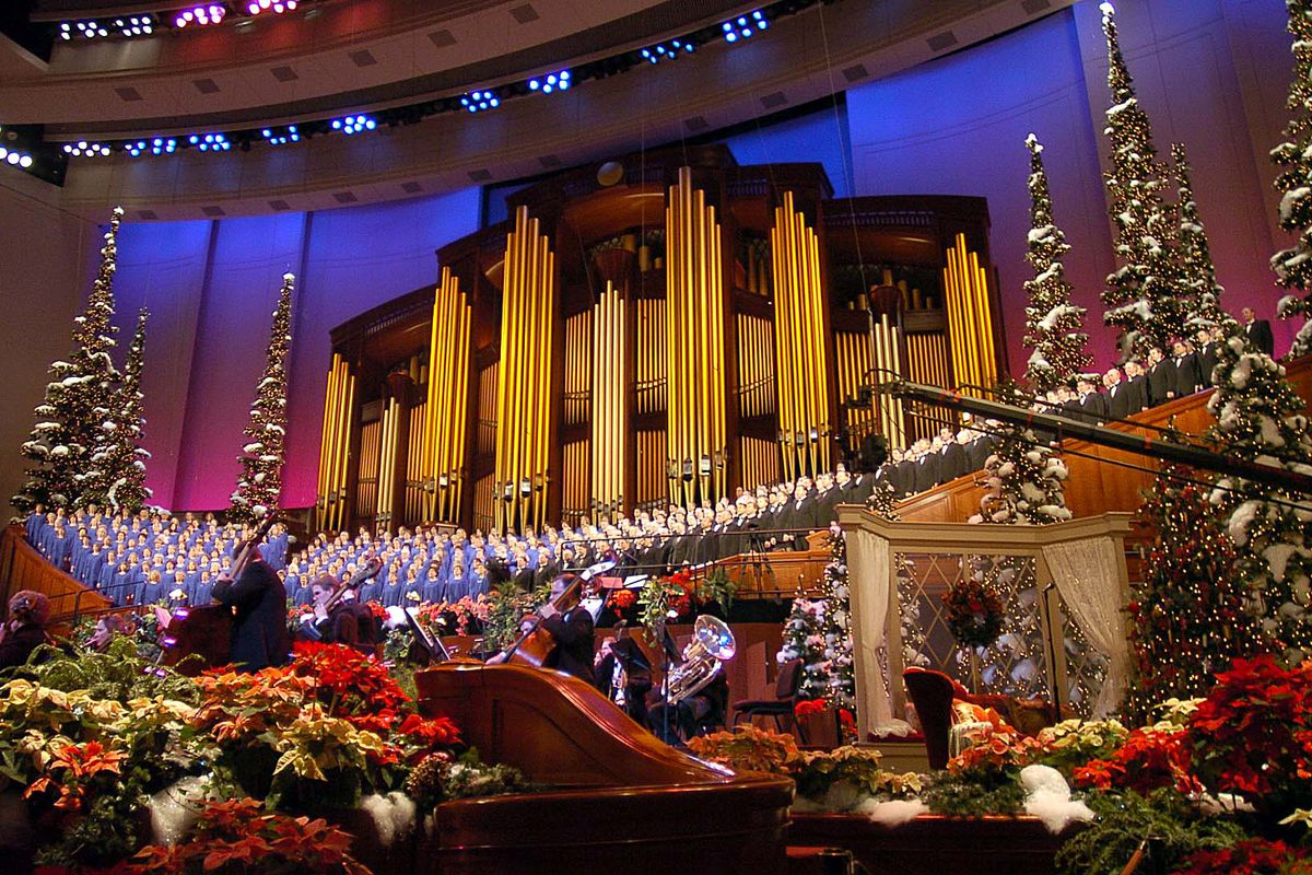 Tabernacle Choir Christmas Concert 2020 Tabernacle Choir Christmas concert, other 2020 performances