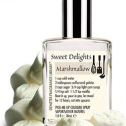 "<a href=""http://www.demeterfragrance.com/Product.aspx?ProductID=1053"" rel=""nofollow"">Demeter Marshmallow Body Spray</a>: $20 for 1 oz"