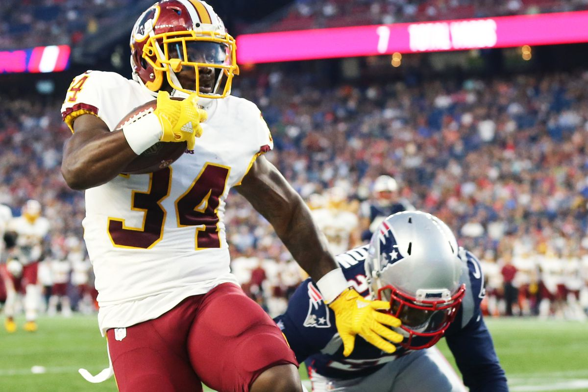 Roster battle  Assessing the competition among Redskins running backs thru  two preseason games 6d5343515
