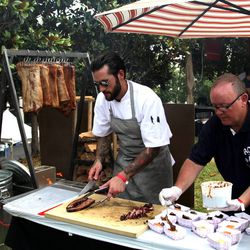 Hot chef/King + Duke exec chef Joe Schafer.