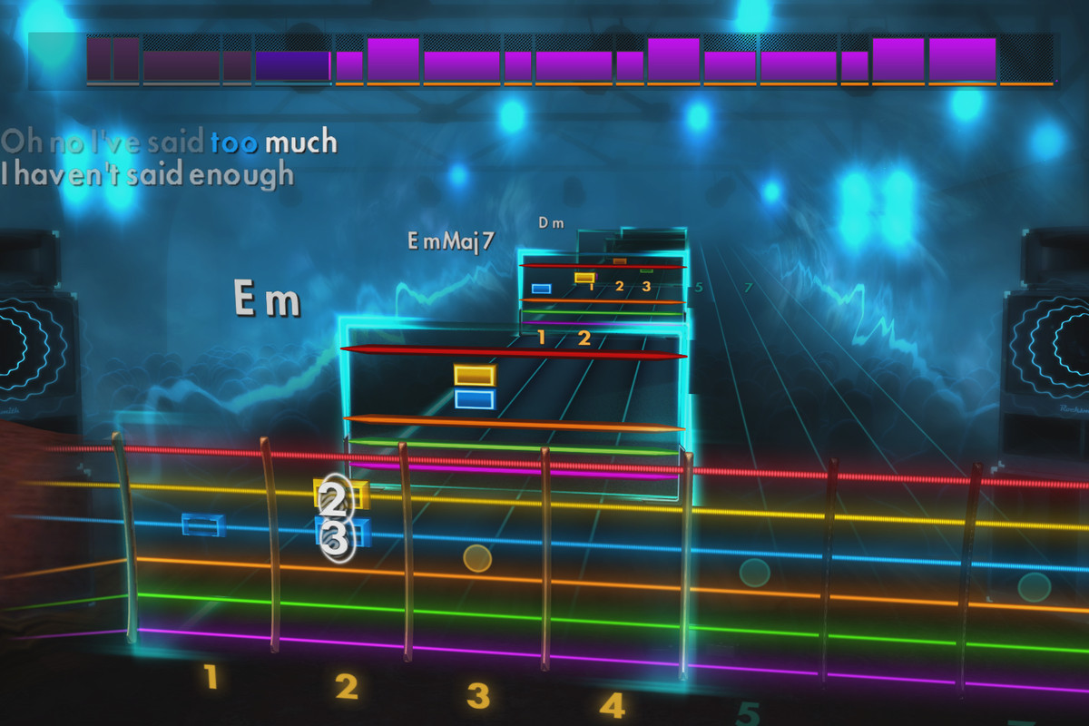 Xbox one game learn to play guitar