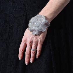 Julianne Moore in Dior jewels.