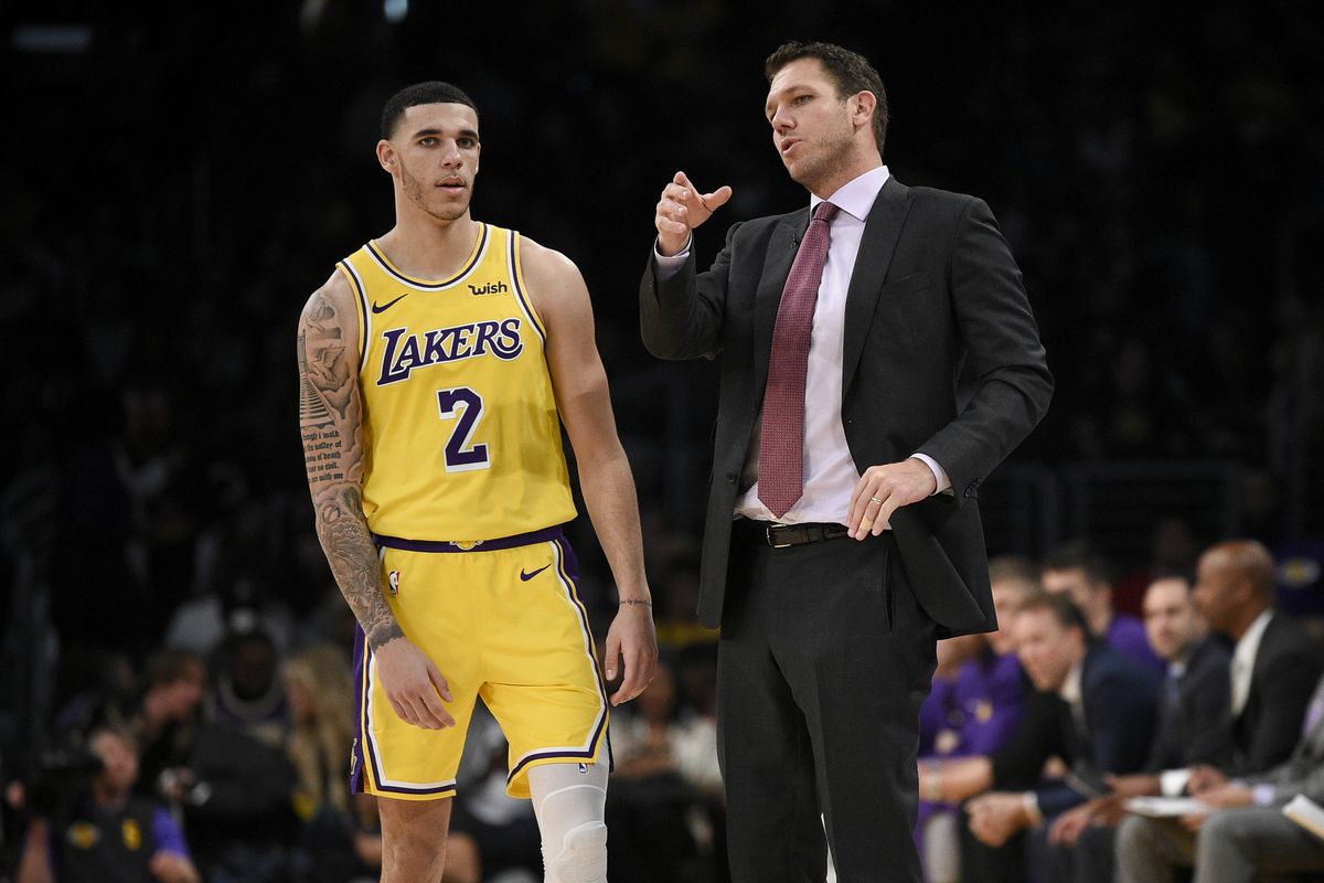c340be12 Lakers Podcasts: Should Luke Walton have played Lonzo Ball more in ...