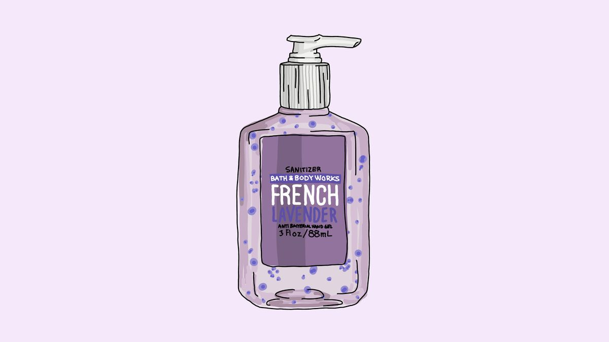 What Is Bath In French lavender bath and body works hand sanitizer is my secret