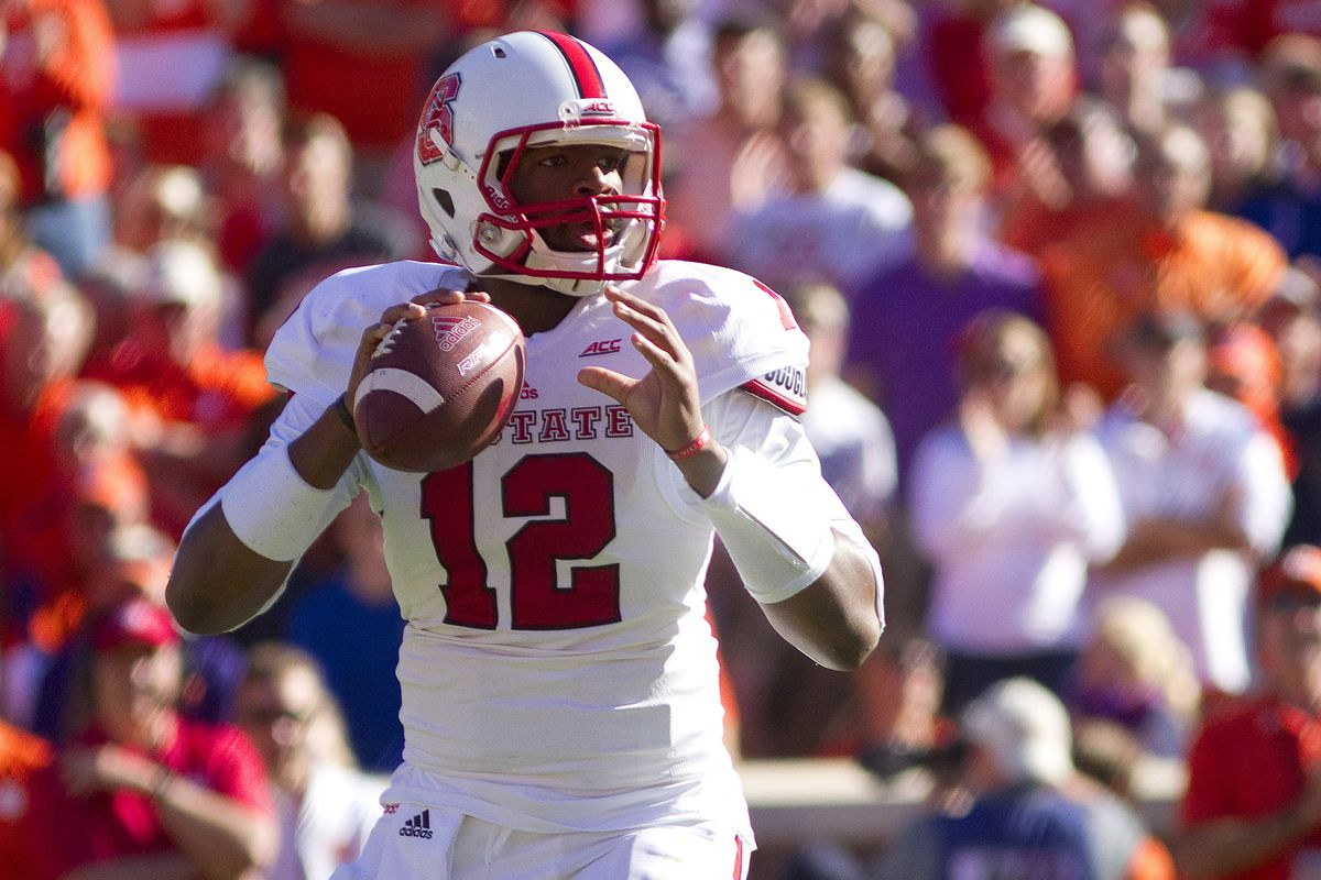 Jacoby Brissett will look to put last week's struggle behind him against Boston College.