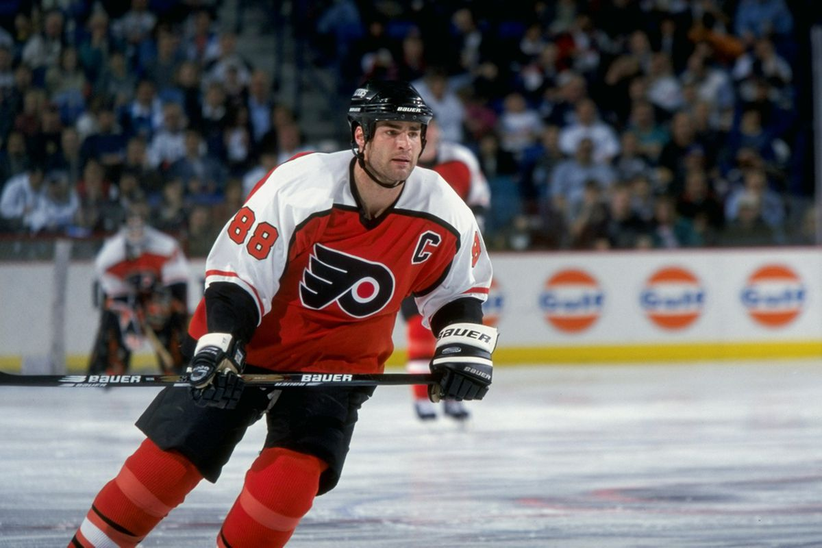 7bc372a4ea7 Eric Lindros' number 88 to be retired by Philadelphia Flyers - Broad ...
