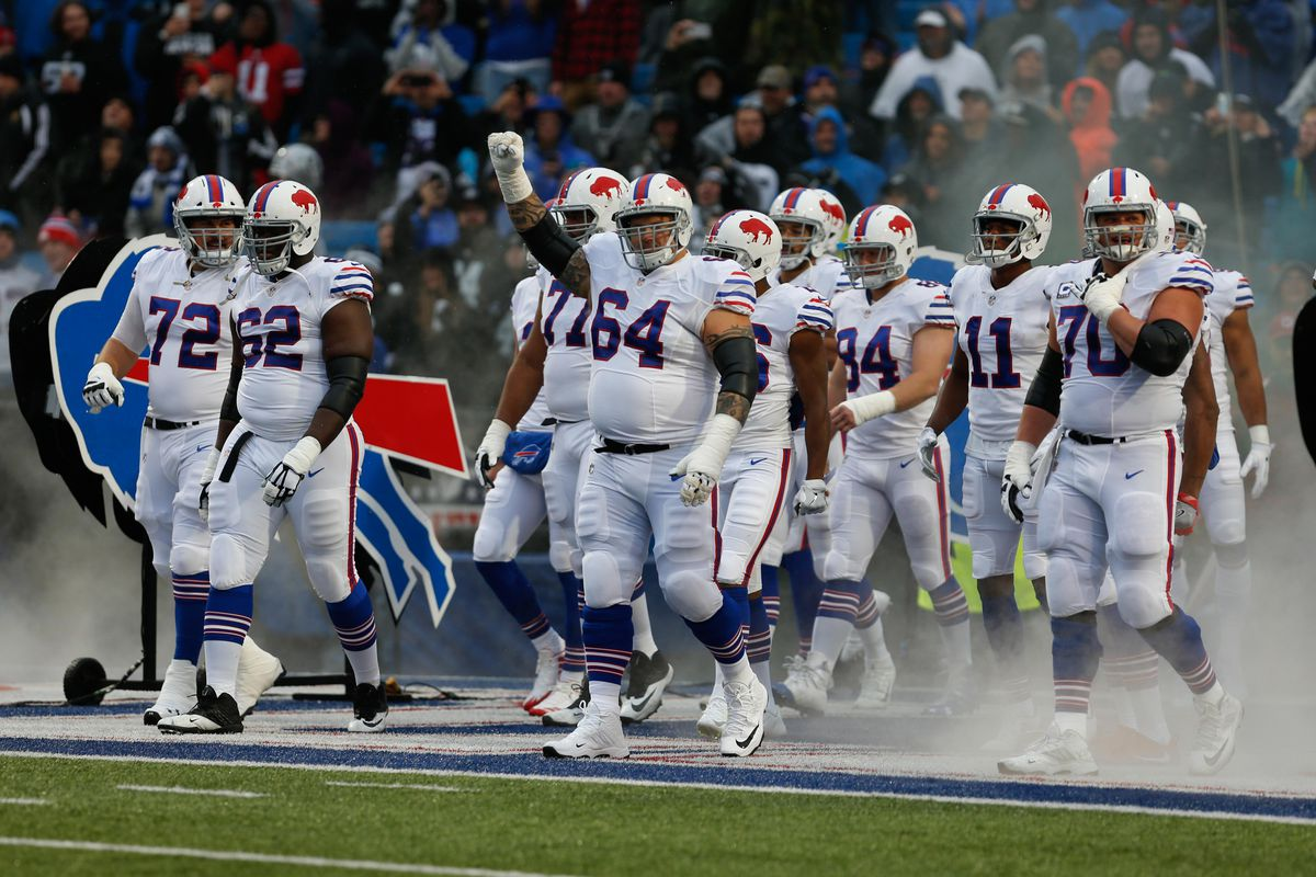 check out 53e24 5f3d7 Buffalo Bills wearing throwback uniforms for the second time ...