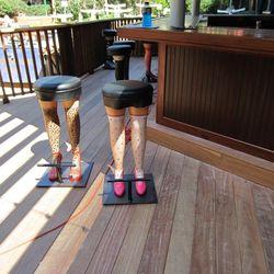 More cheeky bar stools.