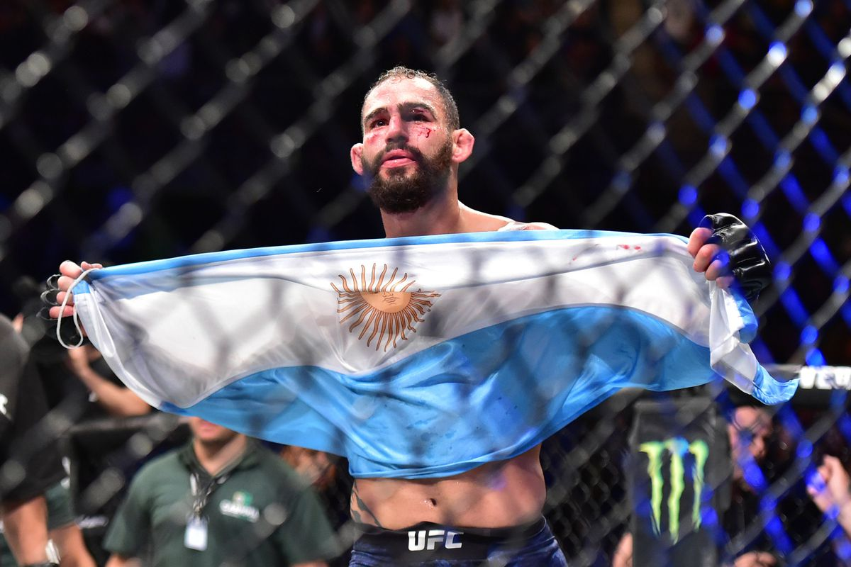 Santiago Ponzinibbio: 'Scared' Rafael dos Anjos 'is running from the fight'