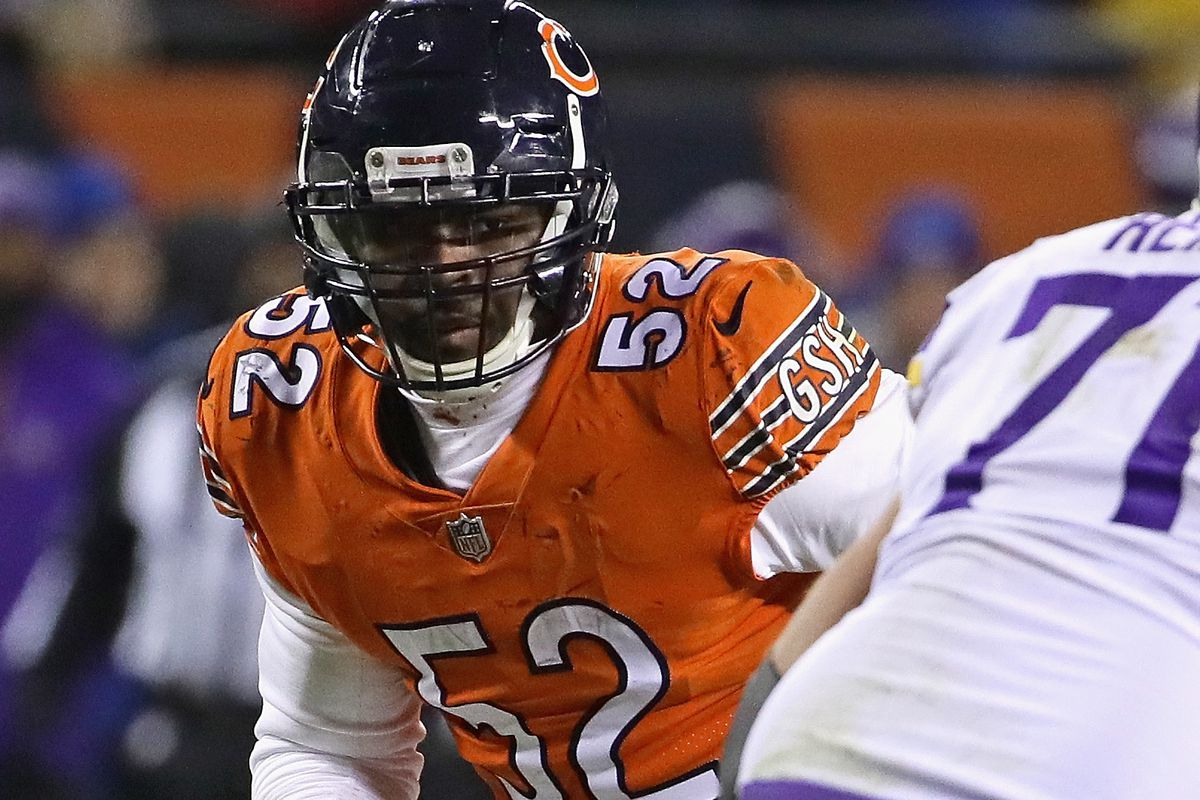 the best attitude 9a5d7 3be44 Khalil Mack or Mitchell Trubisky? Which Bears player would ...