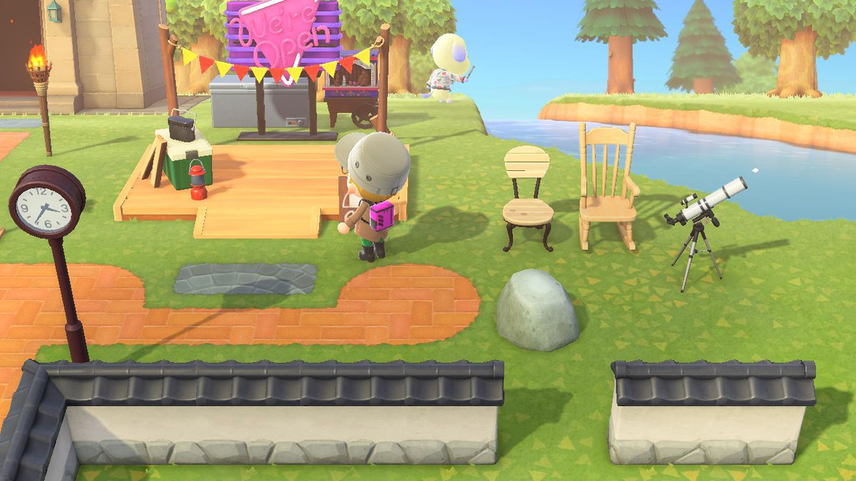 The Campsite in Animal Crossing New Horizons