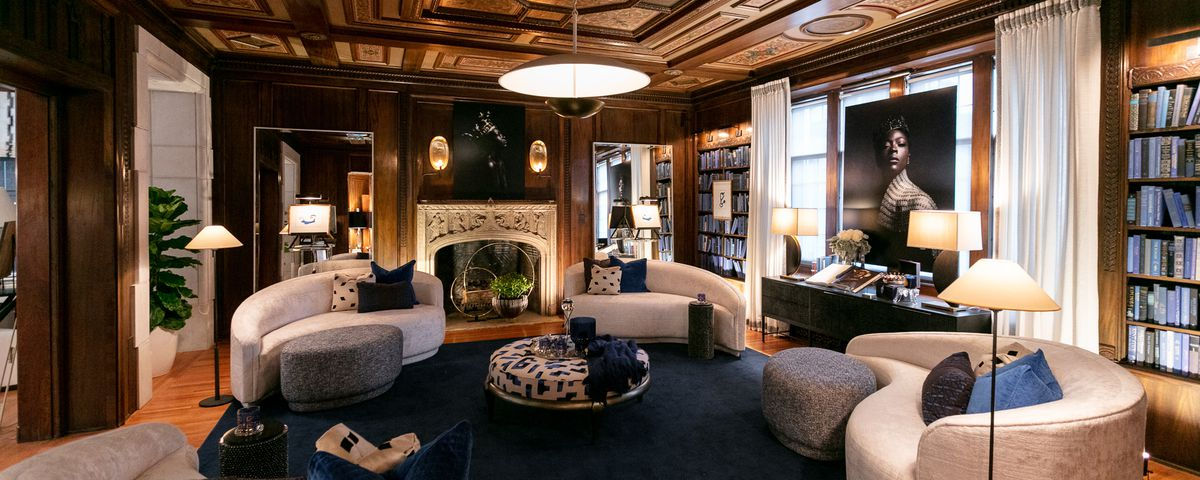 the charles t fisher mansion transforms into the designers show