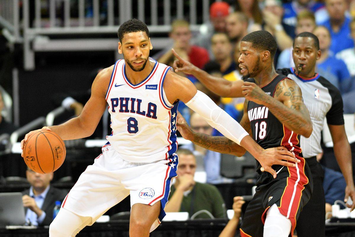 NBA: Preseason-Miami Heat at Philadelphia 76ers